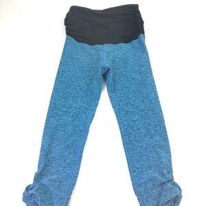 Beyond Yoga Women's Capri Leggings Blue Sz S Q174